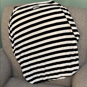 Itzy Ritzy striped nursing cover